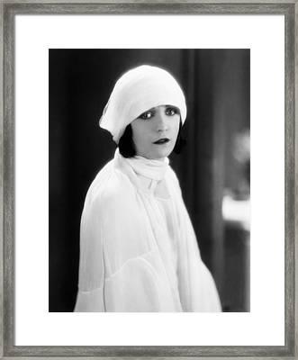 The Woman On Trial, Pola Negri, 1927 Framed Print by Everett