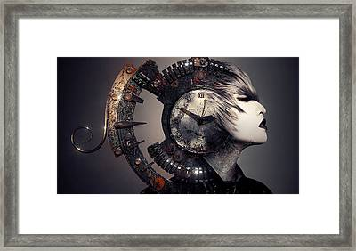 The Woman That Time Forgot Framed Print