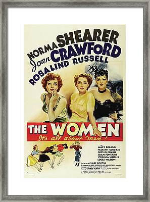 The Women - It's All About Men 1939 Framed Print by M G M