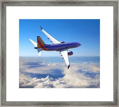 The Wonder Of Flight Framed Print by Garland Johnson