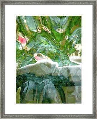 The Wonder Of It All Framed Print by Donna McLarty