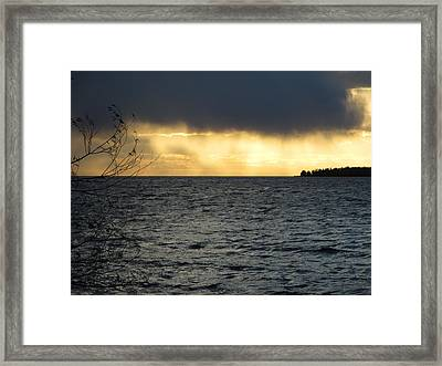 The Wonder Of It All Framed Print by Mary Wolf