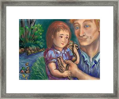 The Wonder Of Life II Framed Print