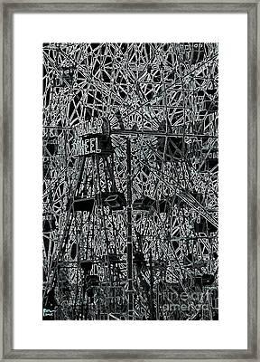 The Wonder Wheel Framed Print