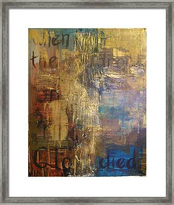 The Wondrous Cross Framed Print by Donielle Boal