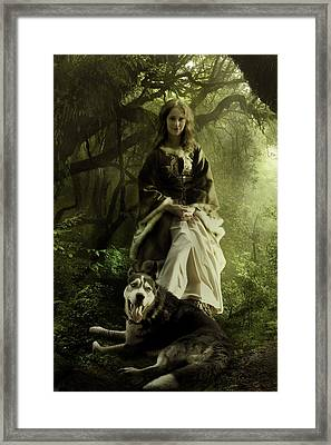 The Wood Witch Framed Print by Cheri Stollings