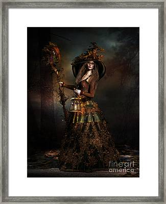 The Wood Witch Framed Print by Shanina Conway