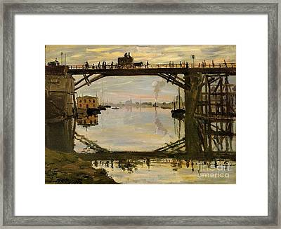 The Wooden Bridge Framed Print
