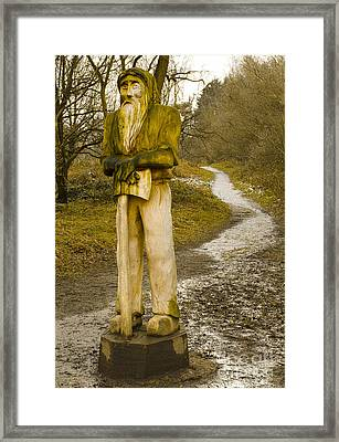 The Woodman Of The Beacon Framed Print