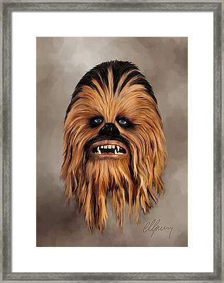 The Wookiee Framed Print by Michael Greenaway