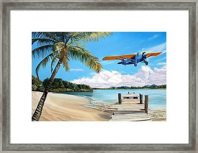 The Woolaroc Framed Print by Kenneth Young