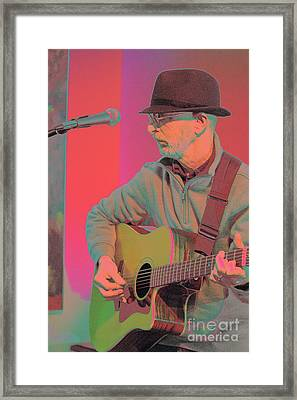 Framed Print featuring the photograph the Wordsmith by Jesse Ciazza