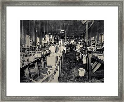 The Work Place Framed Print by Ray Congrove