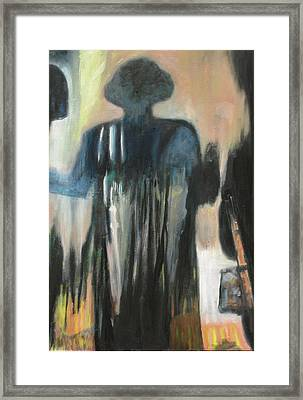 The Worker Framed Print by Xavier Carter