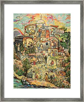 The Works Of Mercy Framed Print by Jen Norton