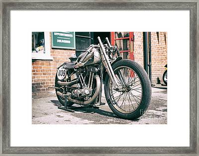 The Works Scrapper Framed Print