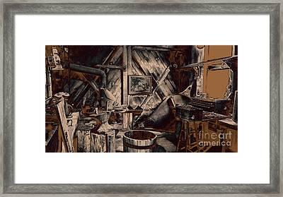 The Workshop Framed Print