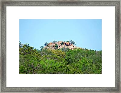 Framed Print featuring the photograph The World Above by Teresa Blanton