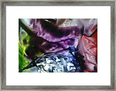 The World Below Framed Print by Steve  Heit