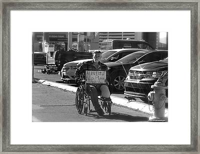 Framed Print featuring the photograph The World Is A Ghetto by Michael Rogers