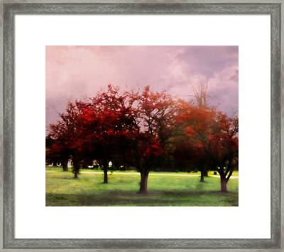 The World Is Charged Framed Print
