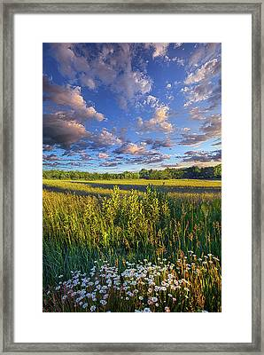 The World Is Quiet Here Framed Print