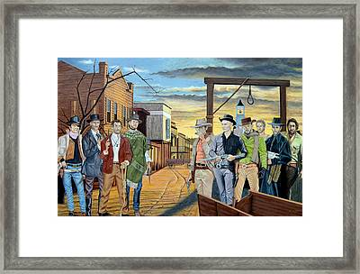 The World Of Classic Westerns Framed Print by Tony Banos