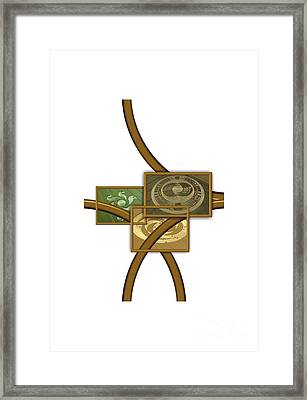 The World Of Crop Circles By Pierre Blanchard Framed Print
