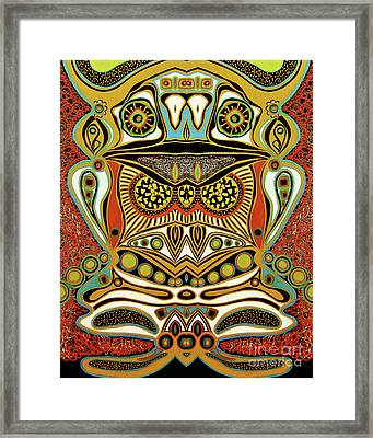 The World Of Patterns Framed Print