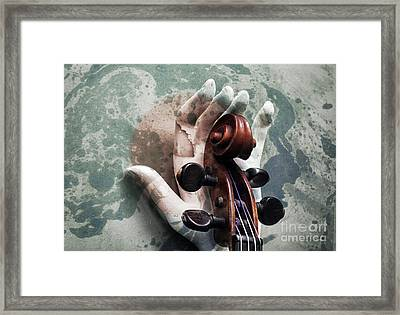 The World Of Sound  Framed Print by Steven Digman
