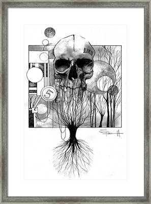 The World Tree Framed Print by Sean Parnell