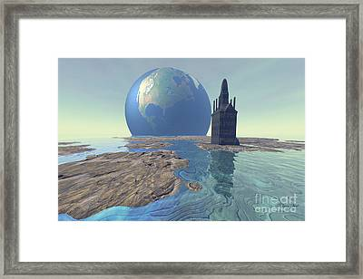 The World Turns Framed Print by Corey Ford