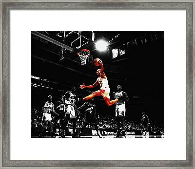 The Worm Rebound Framed Print