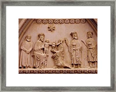 The Worship Of The Magi 2 Framed Print by Sarah Loft