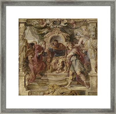 The Wrath Of Achilles Framed Print by Peter Paul Rubens