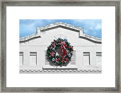 The Wreath Framed Print by Christopher Holmes