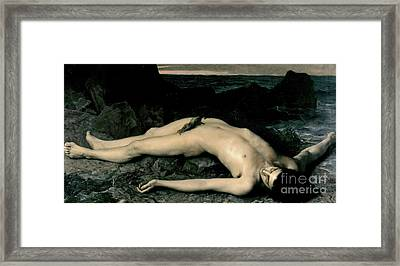 The Wreck Or The Italian Framed Print