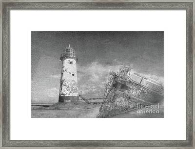 The Wrecks  Framed Print by Steev Stamford