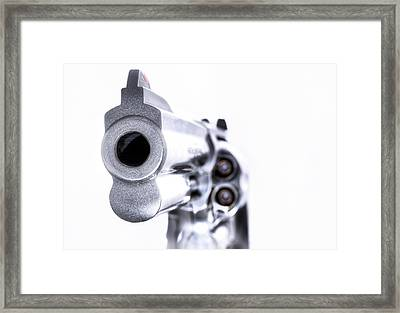 The Wrong End Framed Print by JC Findley
