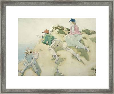 The Yacht Race Framed Print by Sir William Orpen