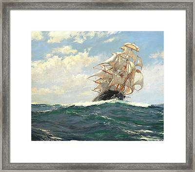The Yankee Packet Dreadnought Framed Print