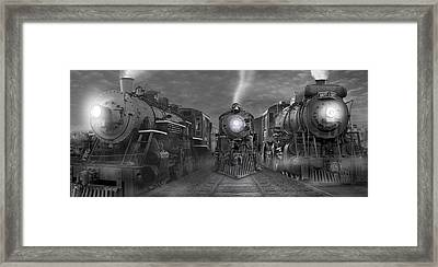 The Yard Panoramic Framed Print by Mike McGlothlen