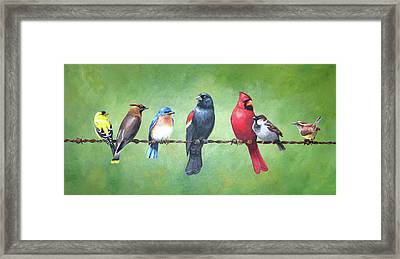 The Yardbirds Framed Print by Kerry Trout