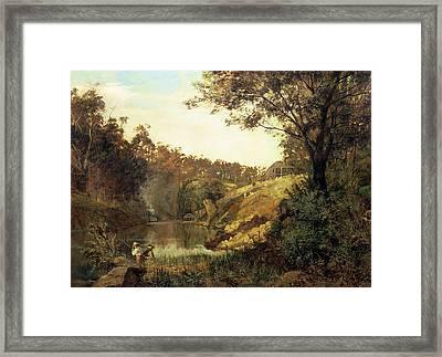 The Yarra, Studley Park Framed Print