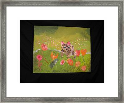 Framed Print featuring the painting The Year Sped By by AJ Brown
