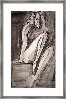 The Yearning Framed Print