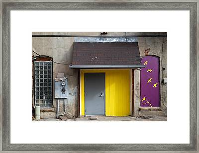 The Yellow Birds Framed Print by Monte Stevens