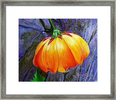The Yellow Flower Framed Print