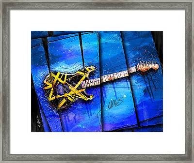 The Yellow Jacket Framed Print
