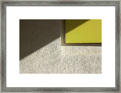 The Yellow Rectangle  Framed Print